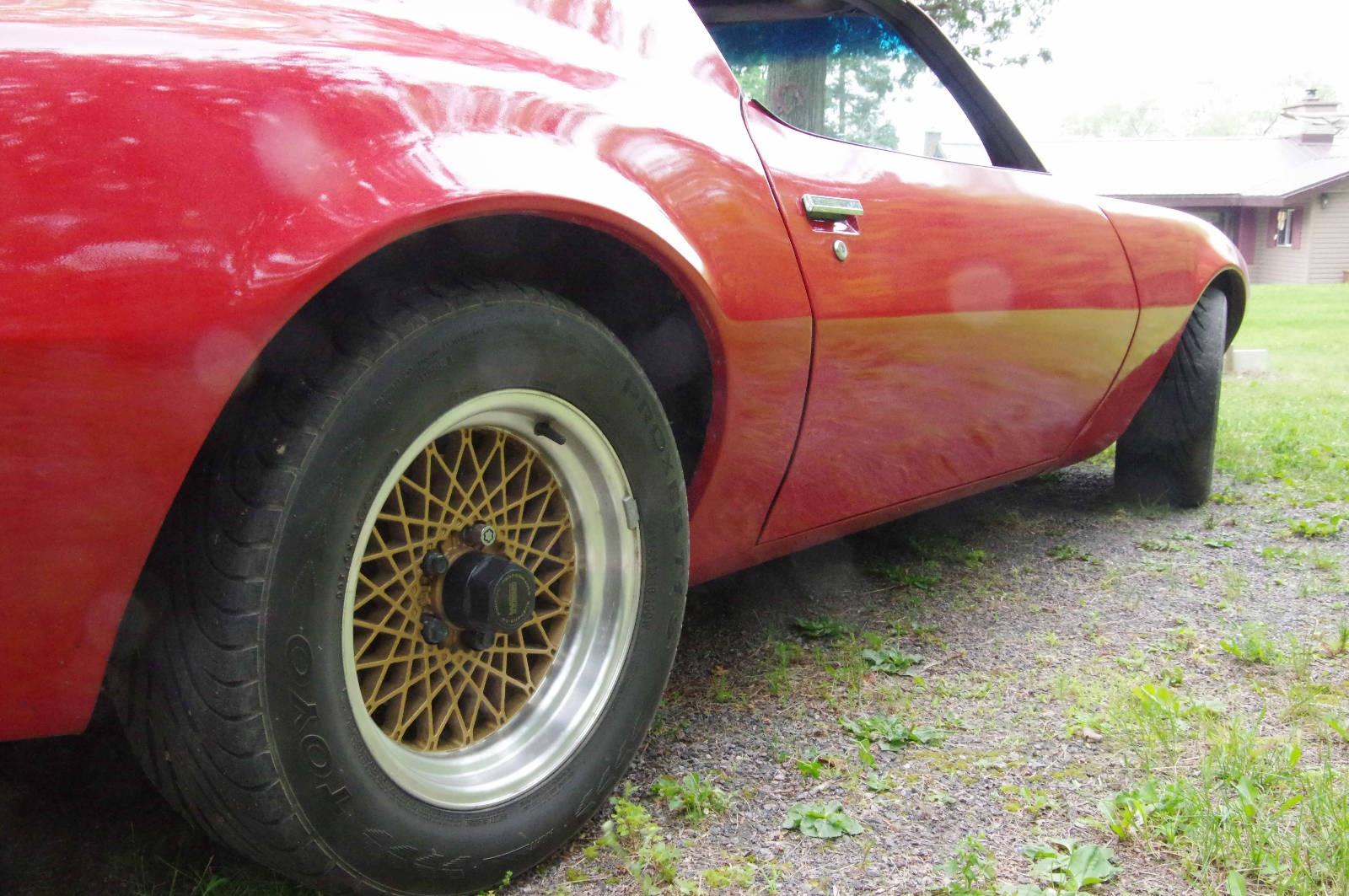 EXCLUSIVE 1973 Pontiac Firebird