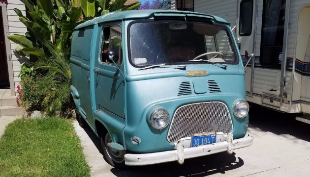 Little Blue Box Update: 1960 Renault Estafette