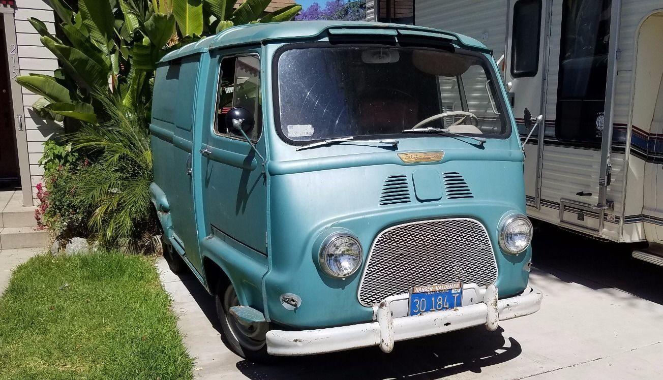 Little Blue Box Update 1960 Renault Estafette
