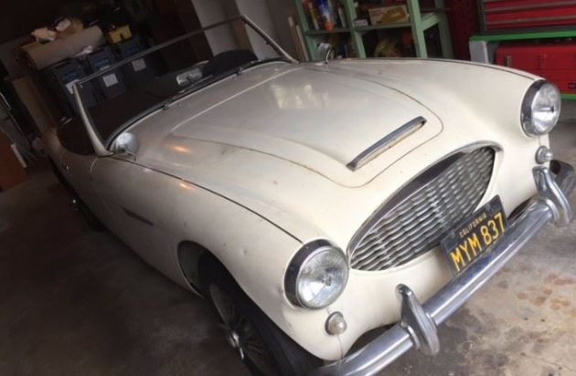 Same Owner Since 1960: 1959 Austin Healey 3000
