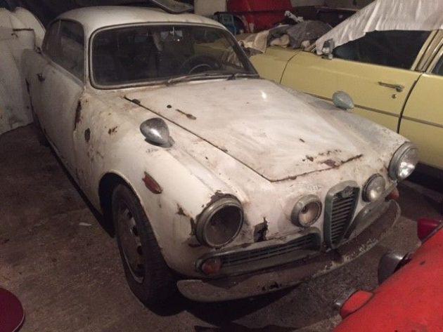 Candidate Sundberg's Car: 1960 Alfa Sprint Veloce