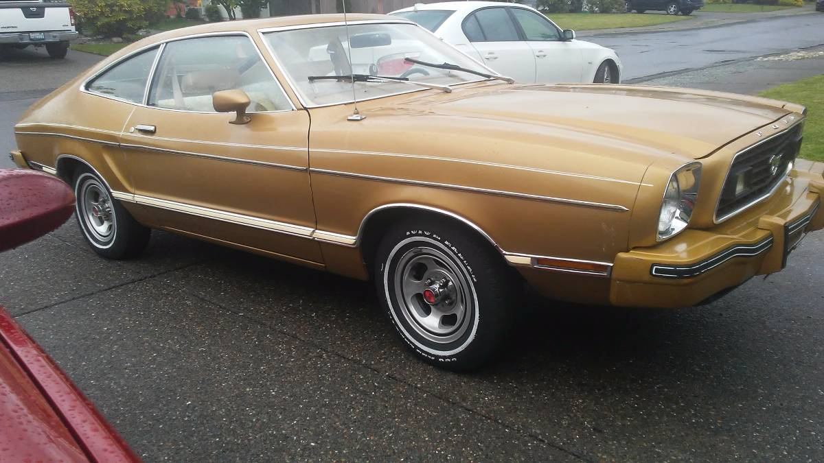 Moms pony 1977 mustang ii with 40706 miles