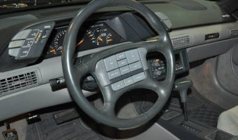 What A Strange Feature This Was In Pontiacs Of Vintage Which Seemed To Predict That We Would Someday Rely On Steering Wheel Controls