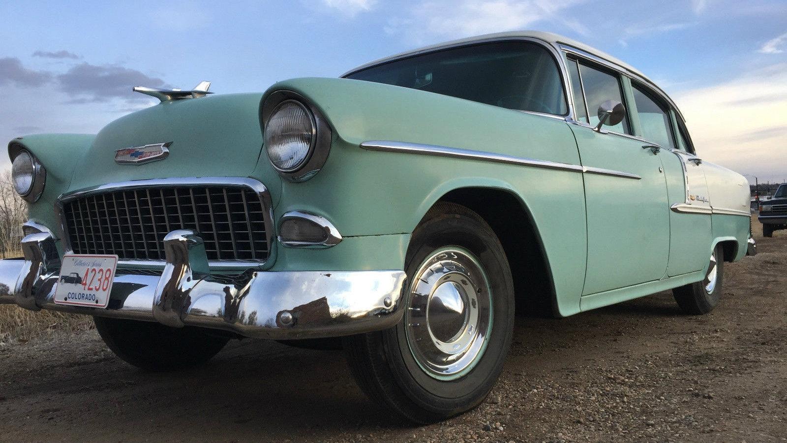 Another 4-Door! 1955 Chevrolet Bel Air
