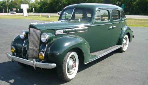 Luxury Car Or Taxi 1939 Packard Six Touring Sedan