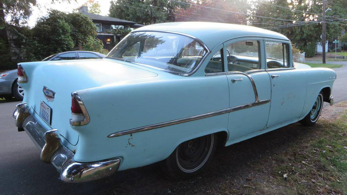 Great Driver: 1955 Chevrolet Sedan