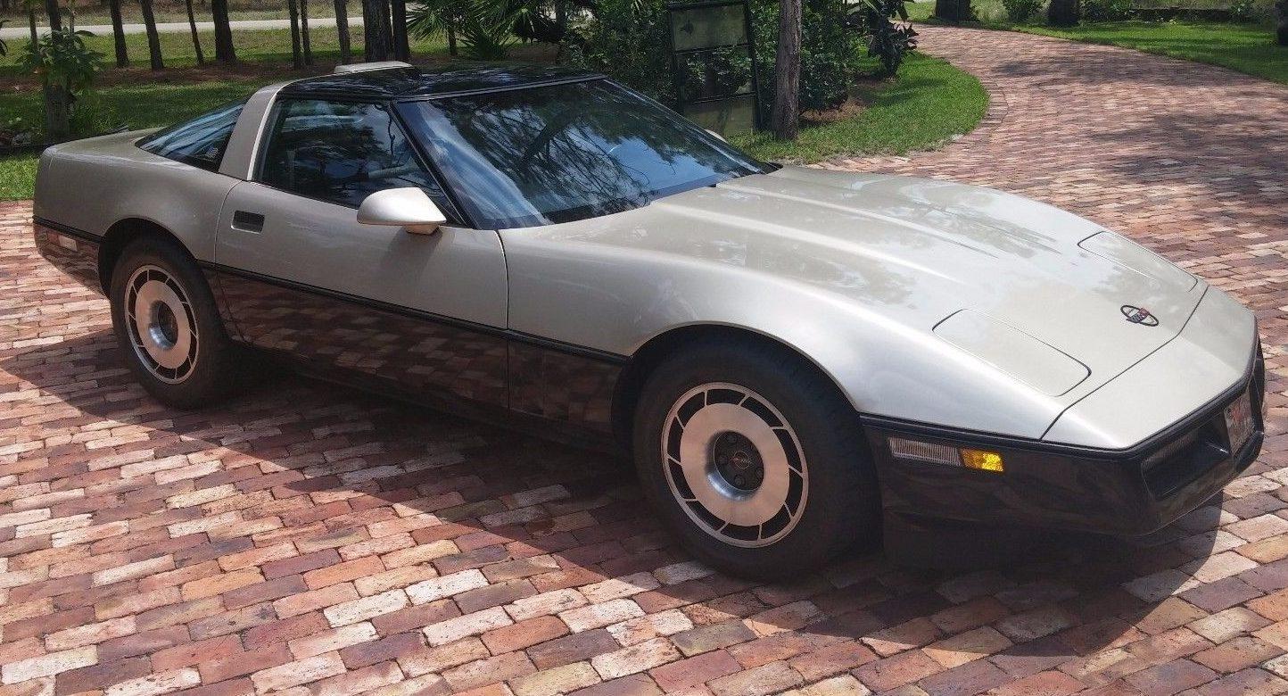 One Of 50 1986 Corvette Malcolm Konner Edition