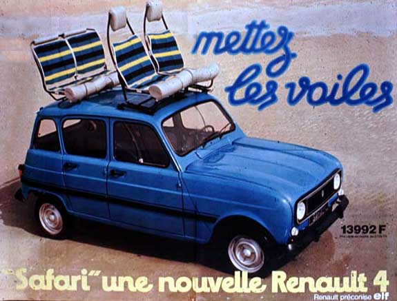 Super Little Blue Box Update: 1960 Renault Estafette OL87