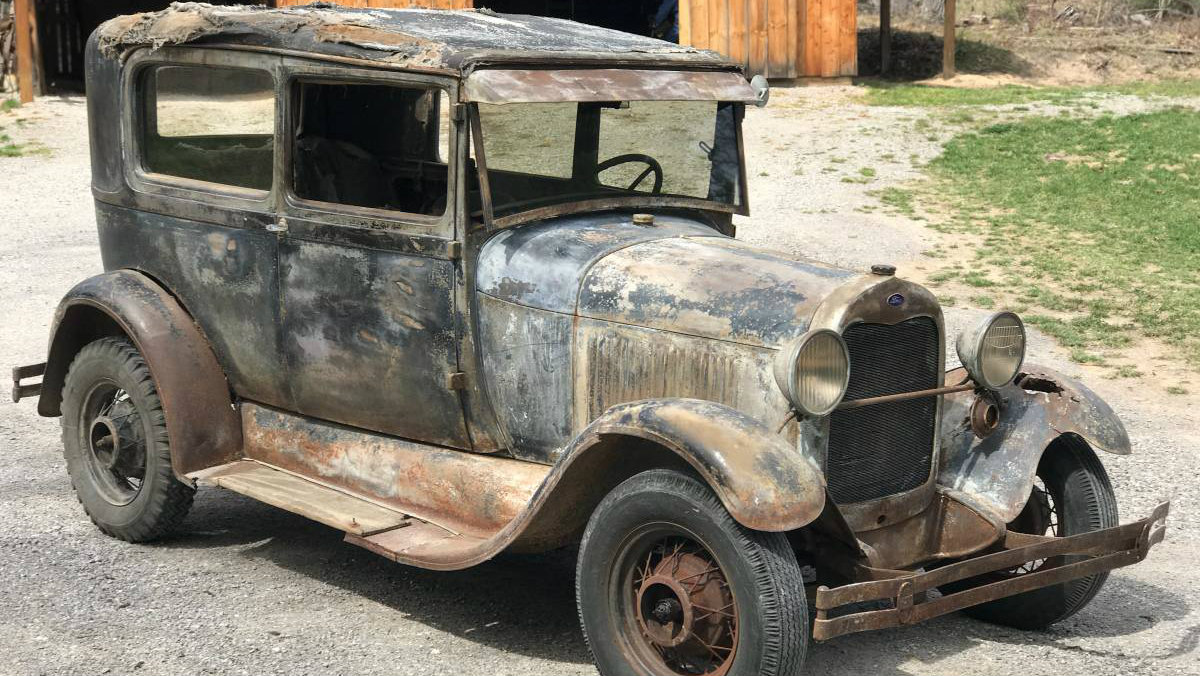 """The Quintessential Barn Find"": 1928 Ford Model A"