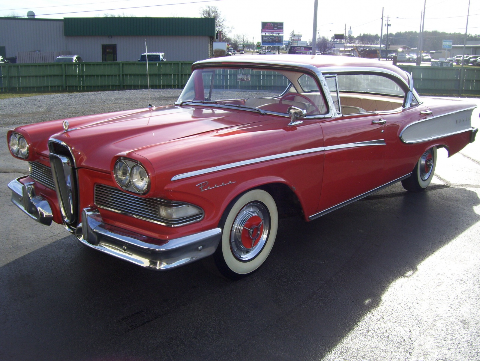 Exclusive 1958 Edsel Pacer