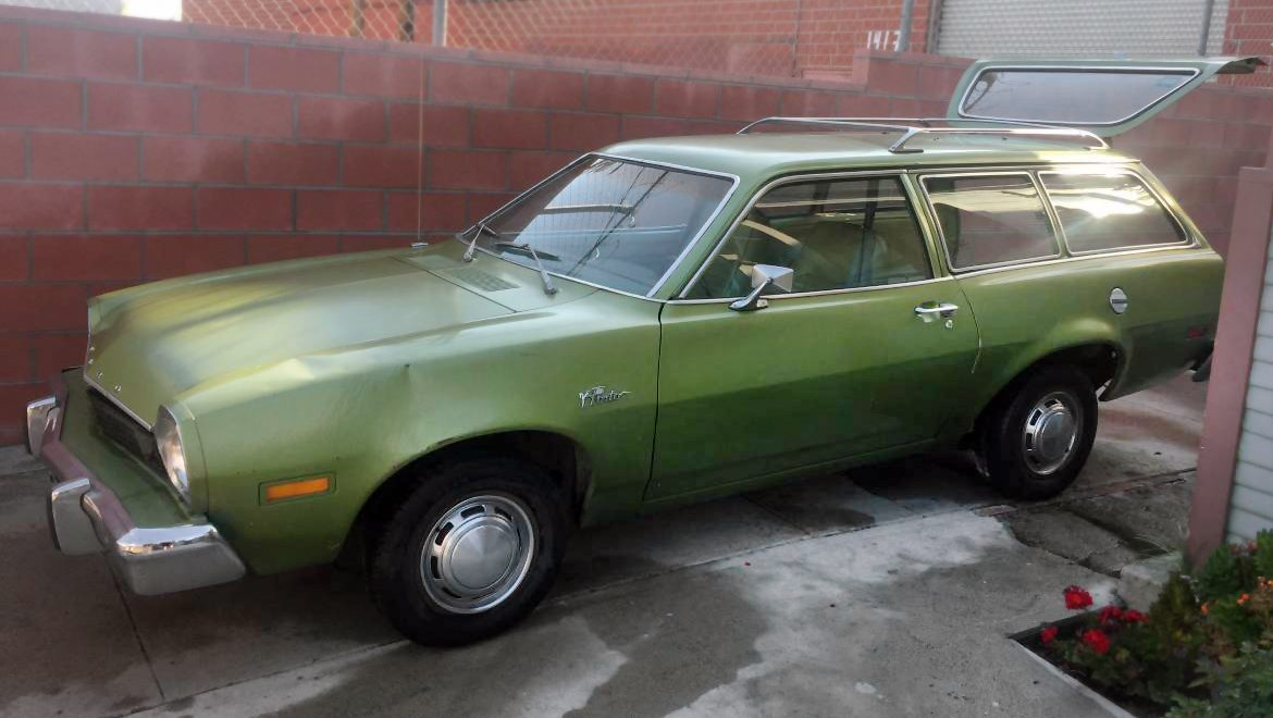 6 Cylinder 4 Speed 1976 Ford Pinto Wagon