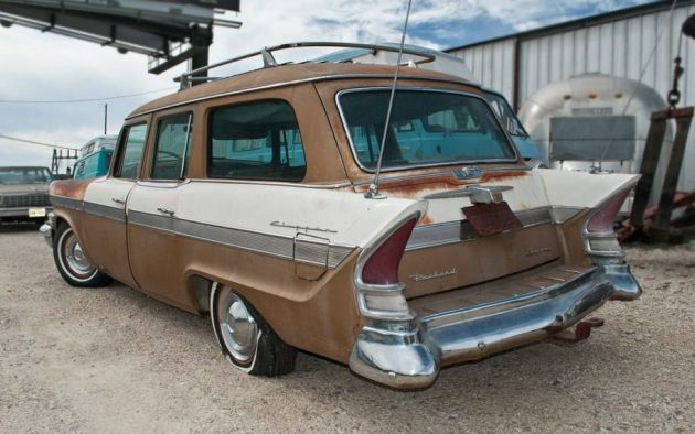 Supercharged Stude: 1957 Packard Clipper Wagon