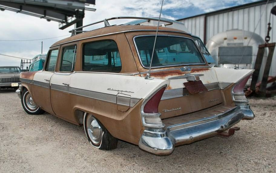 Supercharged Stude 1957 Packard Clipper Wagon