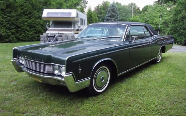 Gorgeous: 1966 Lincoln Continental Coupe