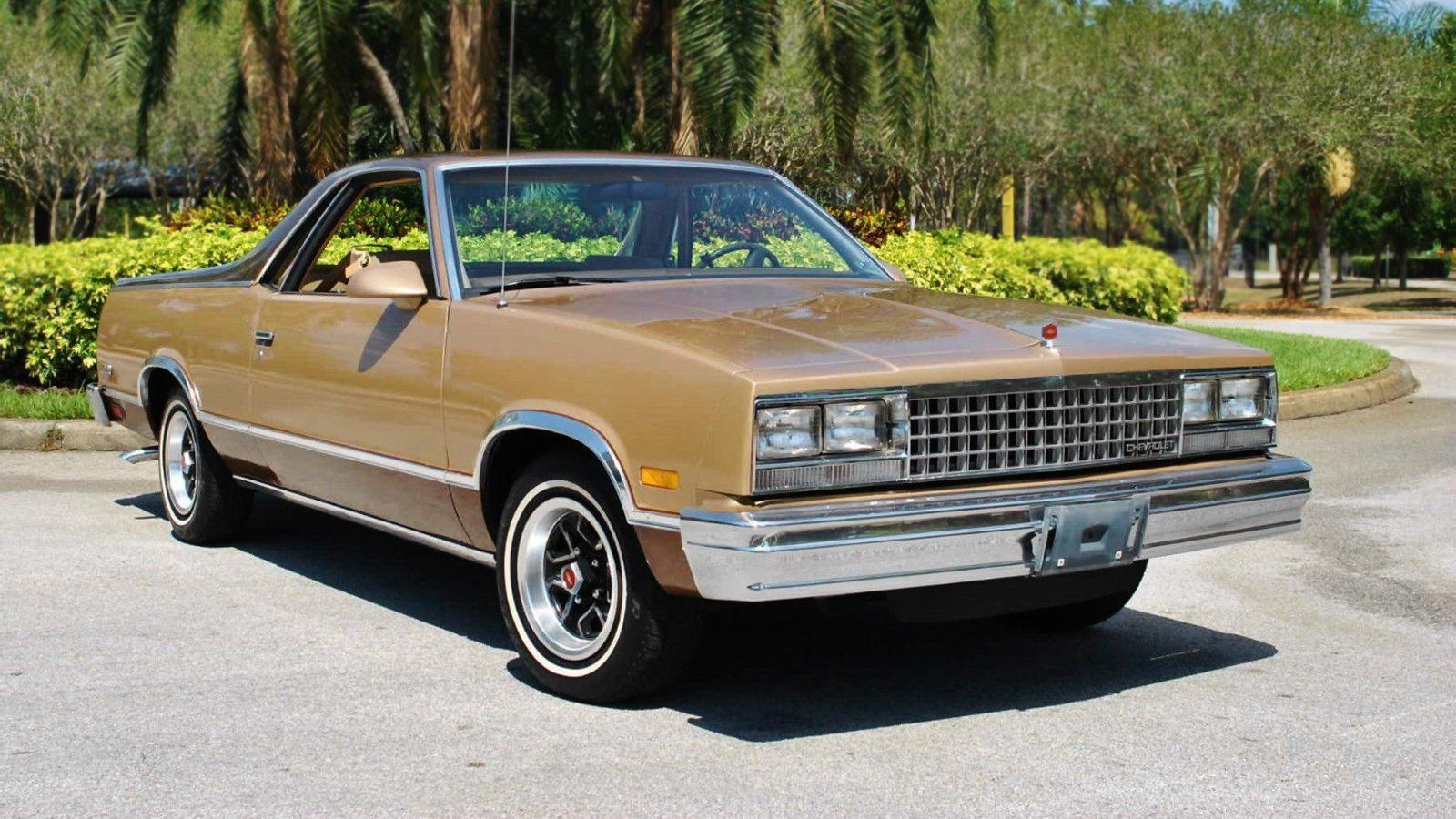 All Chevy 187 1987 Chevrolet El Camino Old Chevy Photos