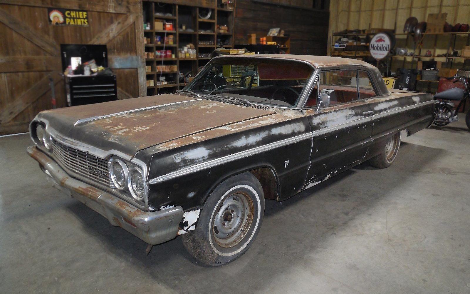 missing link 1964 chevrolet impala ss. Black Bedroom Furniture Sets. Home Design Ideas