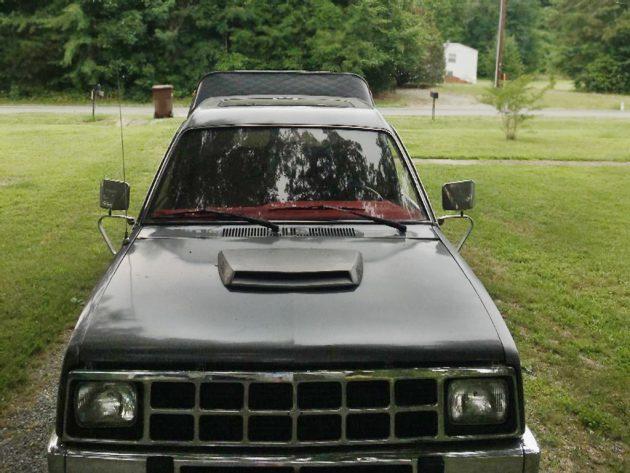 Turbo Diesel Spacecab 4x4: 1986 Isuzu P'up