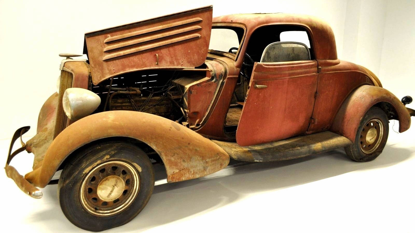 Not A Ford 1934 Hupmobile 417 W Coupe