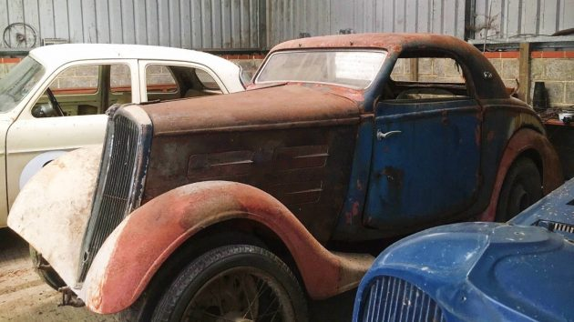French Barn Find: 1936 Peugeot 301D Coupe