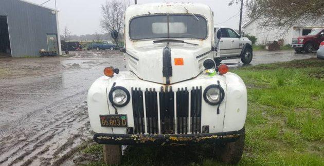 Old Grape Hauler: 1946 Ford Gondola Truck