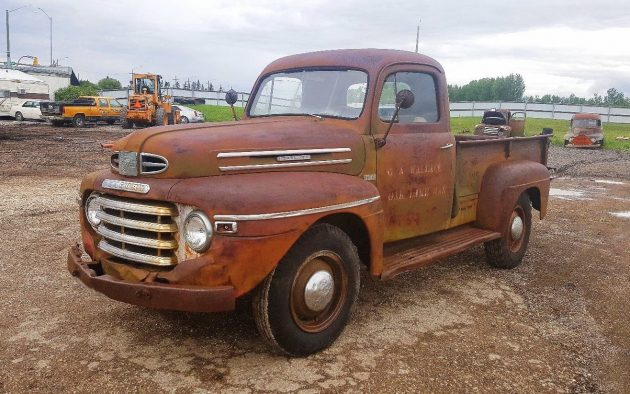 That S Some Patina 1949 Mercury M68 Truck