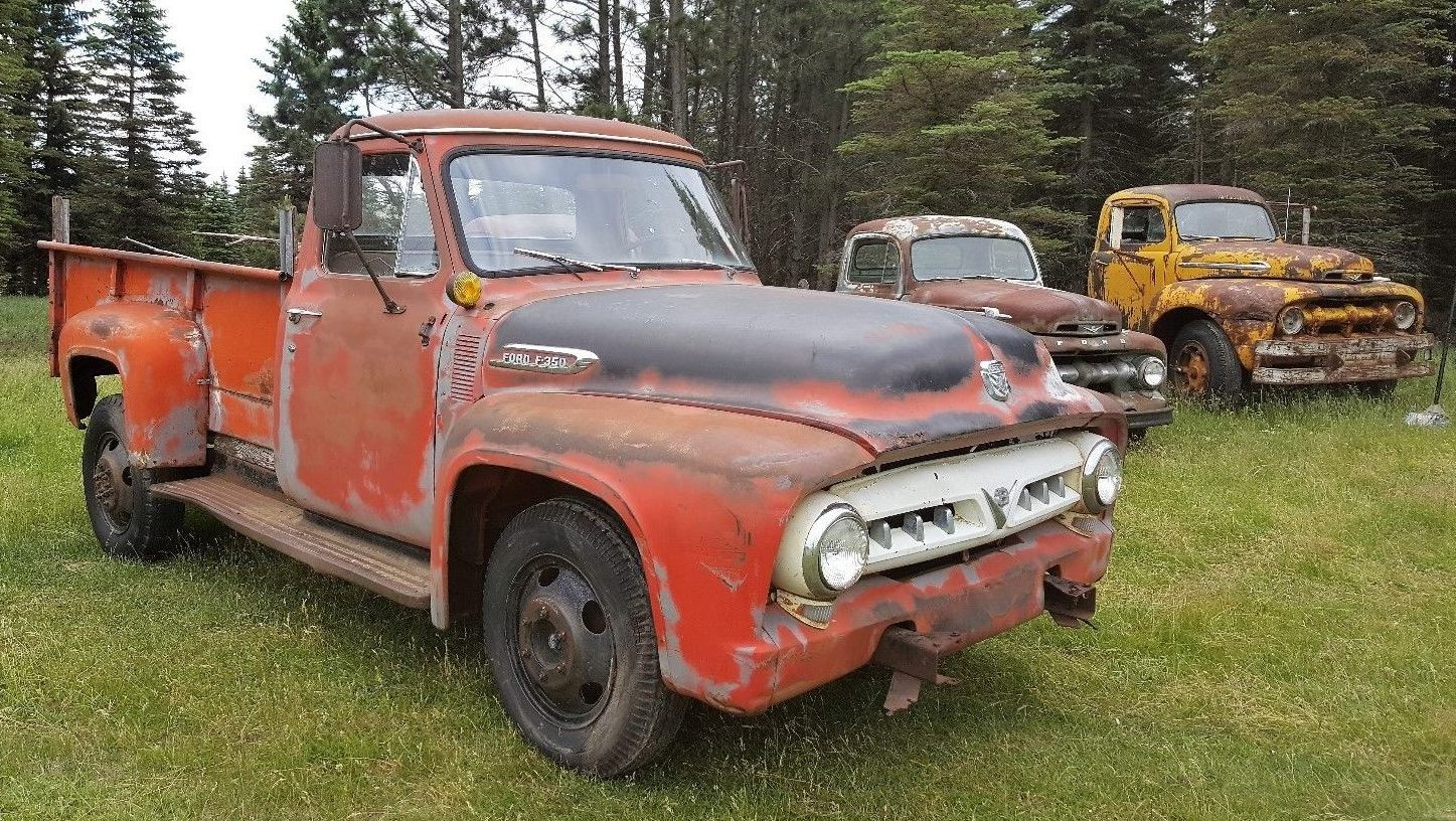 Low Mileage Hauler 1953 Ford F350 Truck