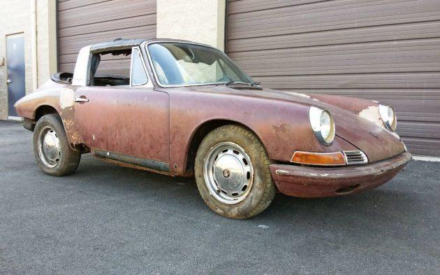 Soft Window, Soft Metal: 1968 Porsche 911 Targa