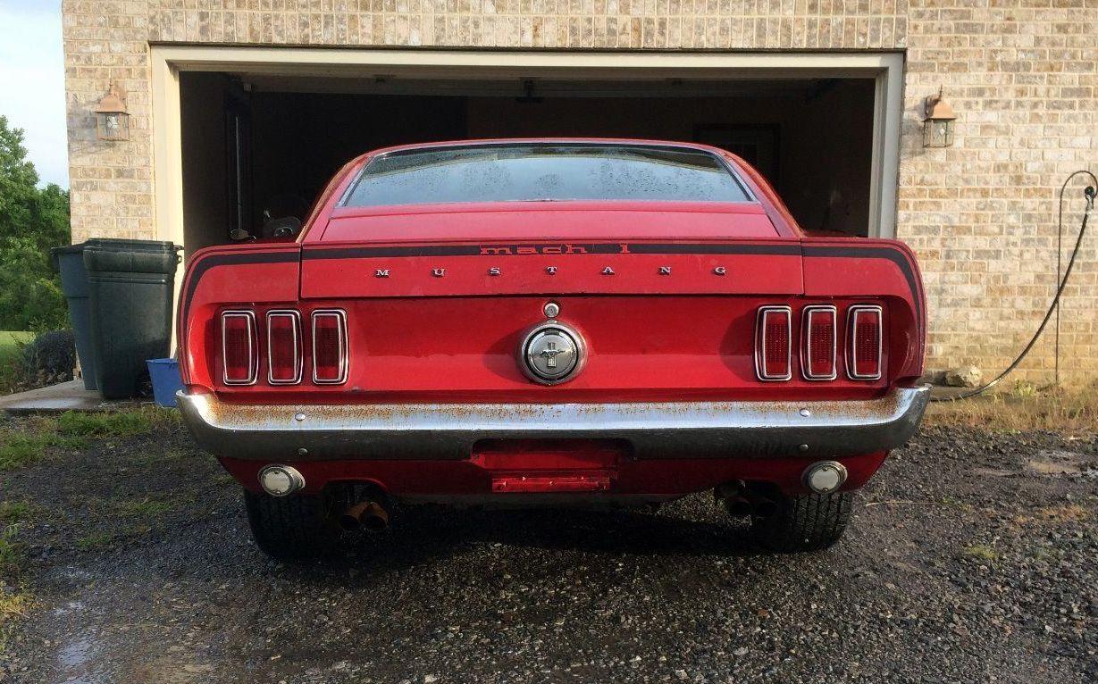 390 4 Speed 1969 Mustang Mach 1