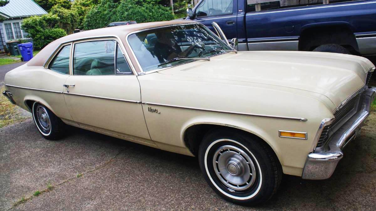 Boop-Oop-A-Doop! 1971 Chevy Nova