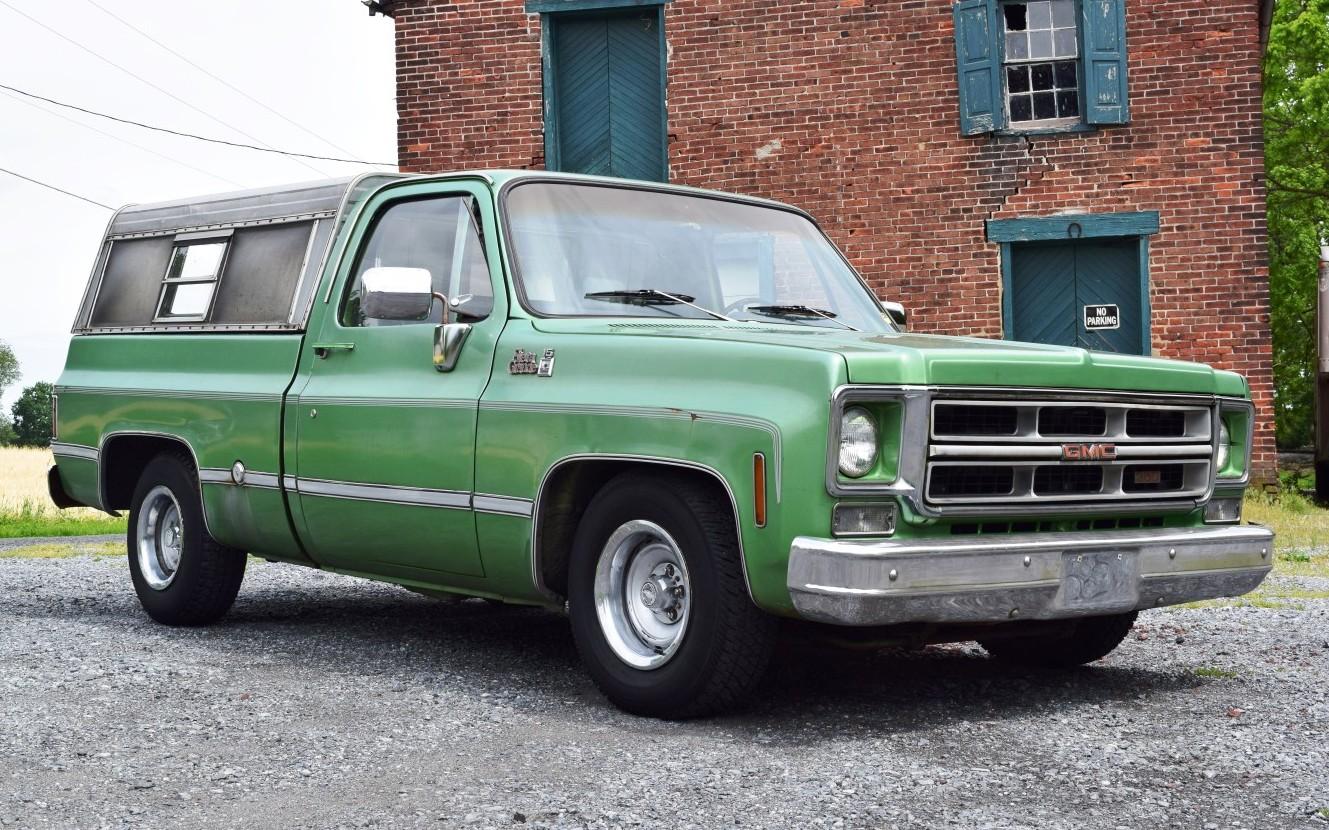 Half Ton Truck >> Perfect Parts Hauler: 1976 GMC 1500 Sierra Grande