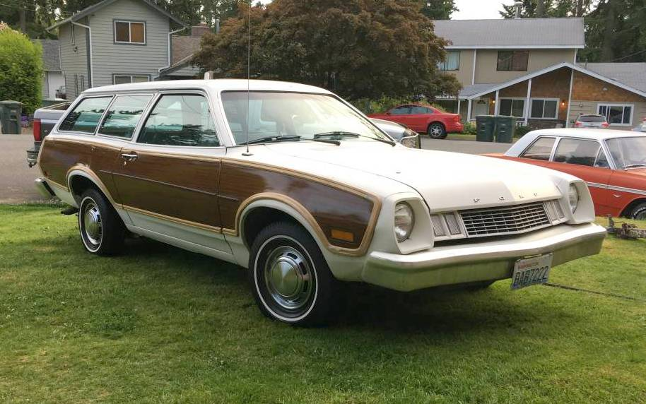 Bargain 1978 Ford Pinto Squire Wagon