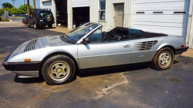 Italian Drop Top: 1984 Ferrari Mondial QV Cabriolet