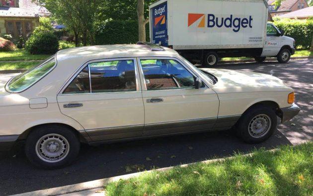 1985 mercedes 380se value