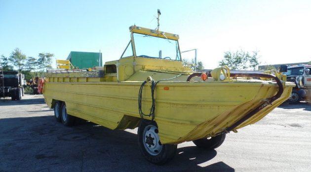 Big Yellow Ducky: 1943 GMC DUKW