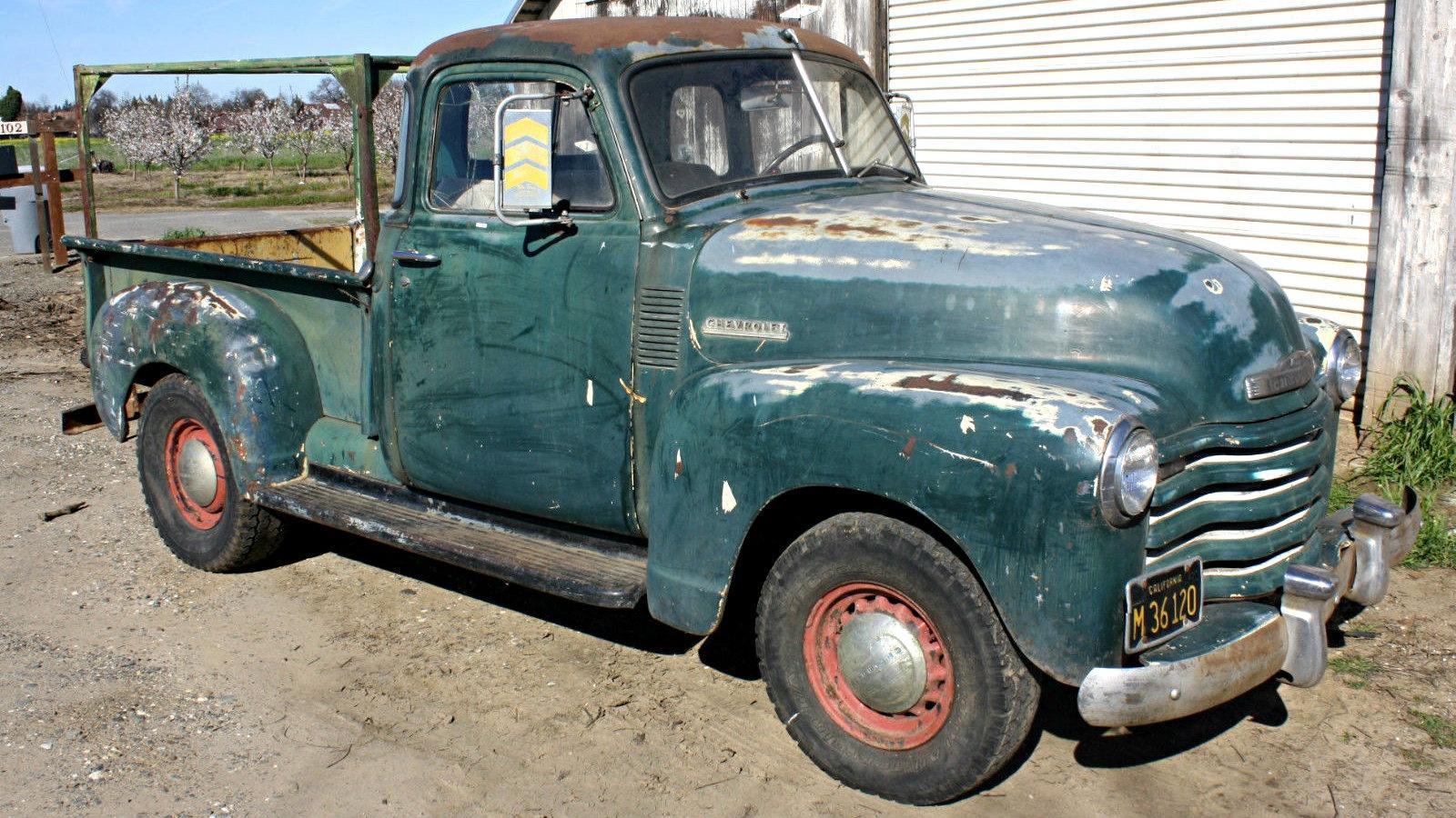 5 Window Farm Hand 1951 Chevrolet Pickup