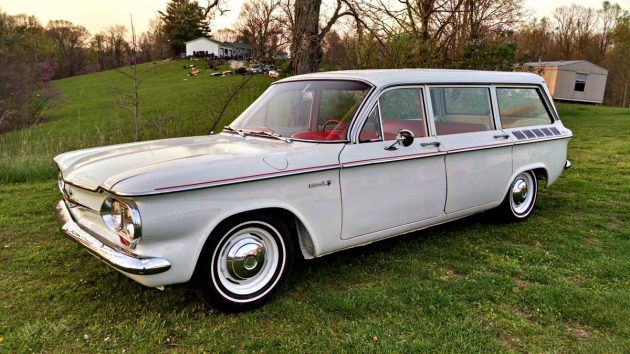 Rear Engined Beauty 1961 Chevrolet Corvair Lakewood