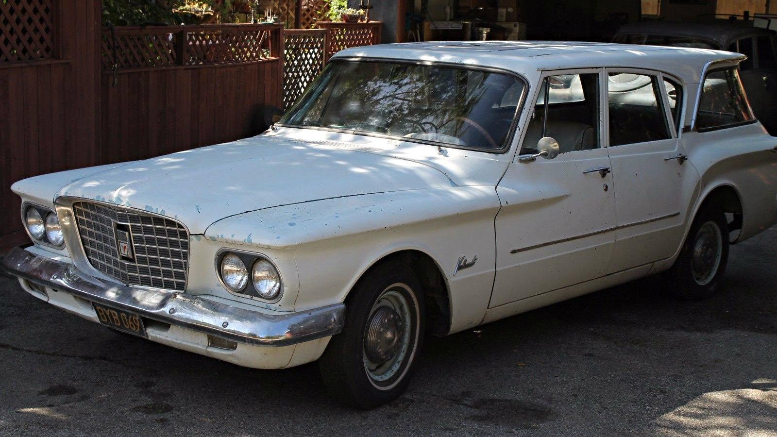 Well Loved Wagon 1961 Plymouth Valiant Wagon