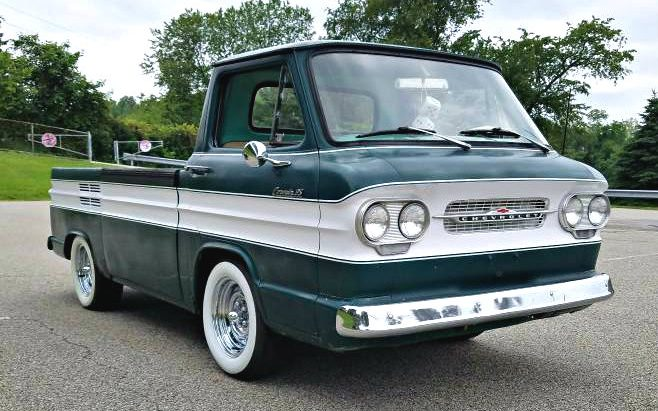Rampside Survivor 1962 Corvair Pickup