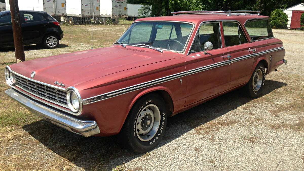 V8 And Air Conditioning 1965 Dodge Dart Wagon