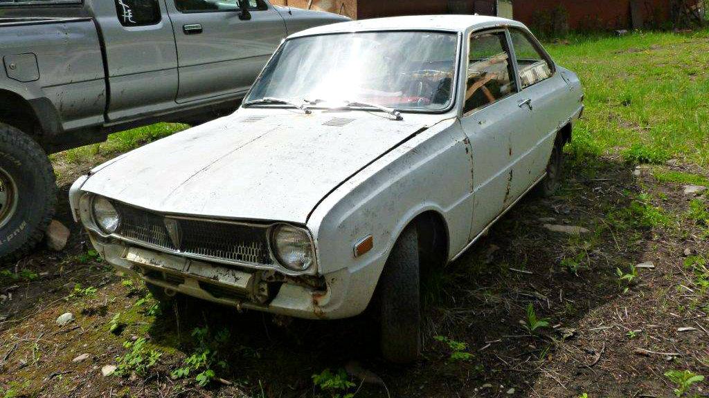 First US Market Mazda Rotary: 1970 Mazda R100