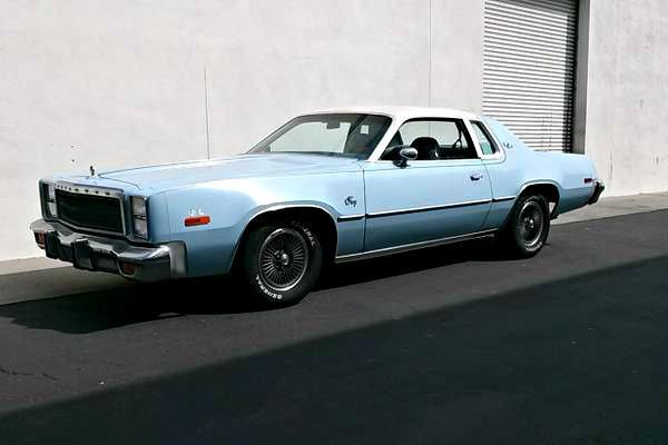 Disco Isn T Dead 1977 Plymouth Sport Fury