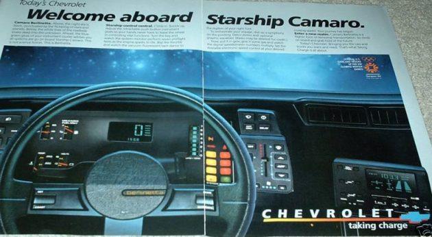 Mission Control 1985 Starship Camarorhbarnfinds: 1986 Camaro Berlinetta Radio At Gmaili.net