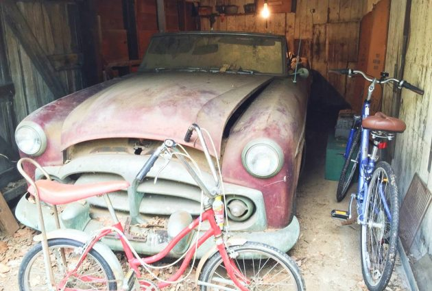 Pair Of Dusty 1951 Packard Patricians