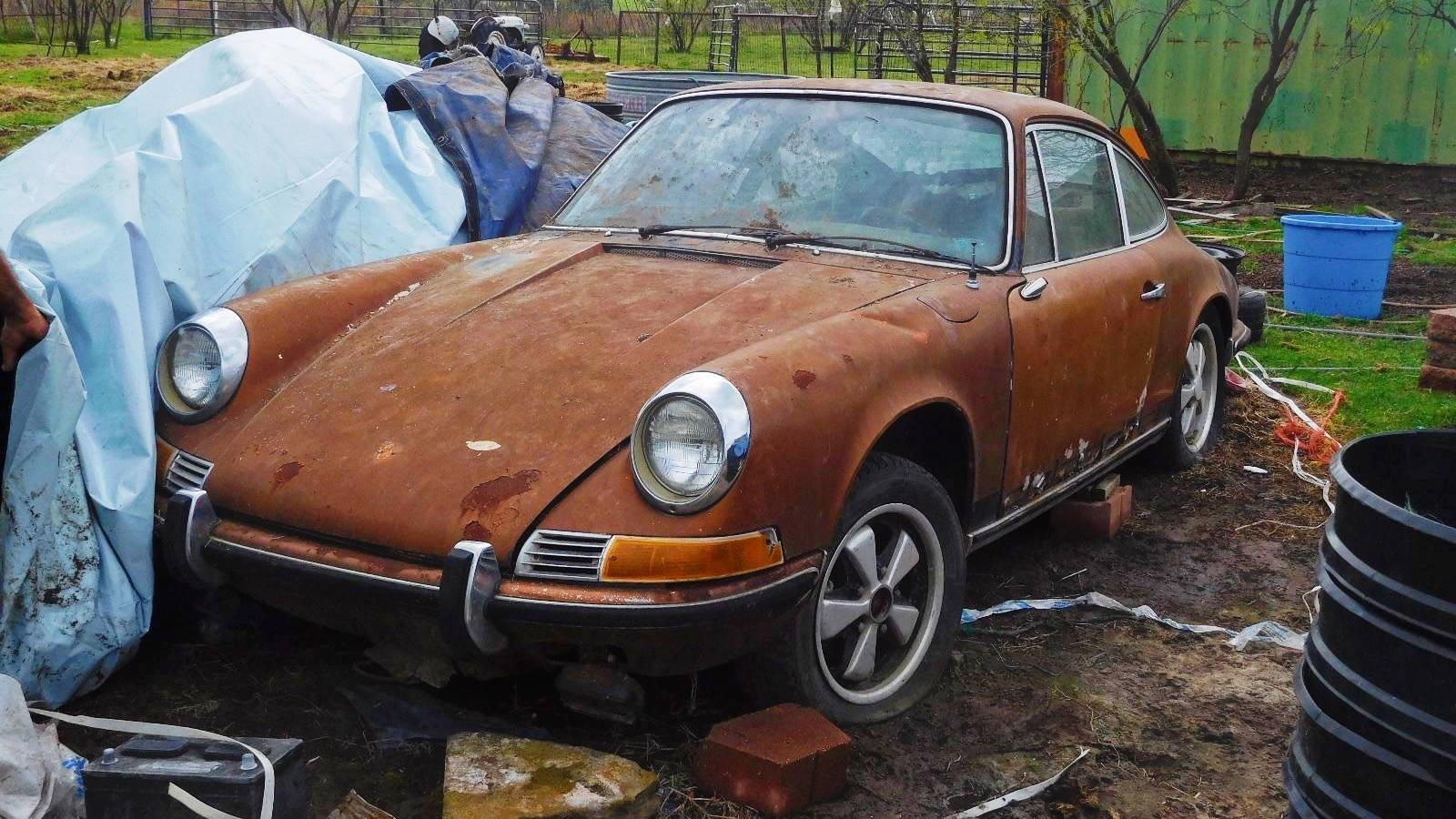 Put Out To Pasture: 1969 Porsche 911S
