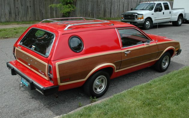 Cool Cruiser 1979 Ford Pinto Squire Wagon