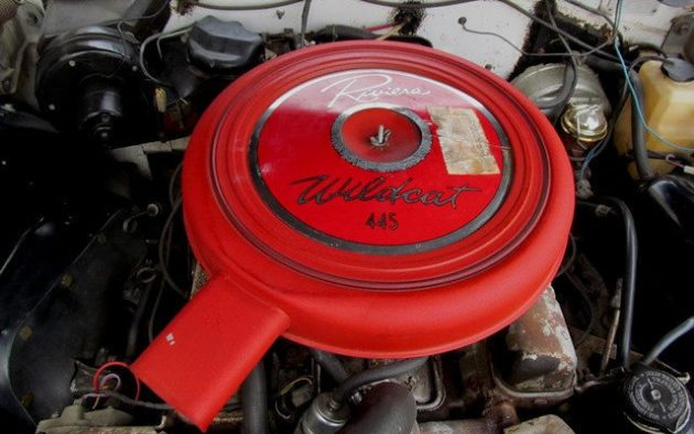 And here's the heart of this beautiful beast! Mrs. Armstrong wasn't just concerned with looks and luxury. The Wildcat 445 was the largest engine option ...
