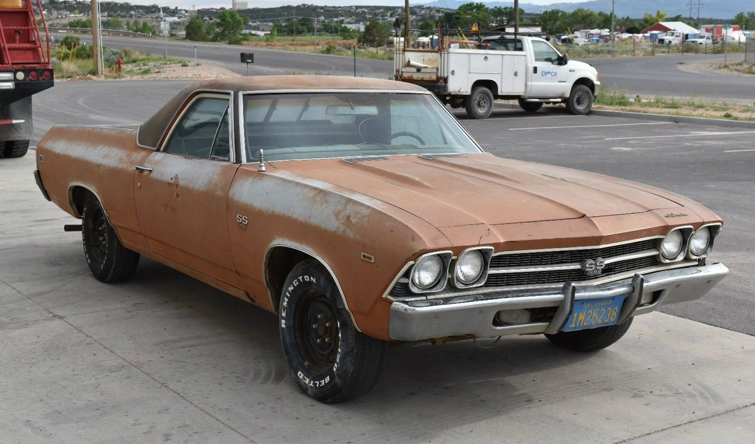 Chevrolet Ss 69 >> 27 Years In A Lean-To: 1969 Chevrolet El Camino SS