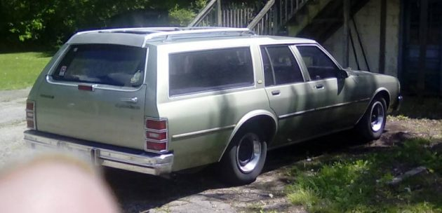 Third Row Seating: 1987 Chevy Caprice Wagon
