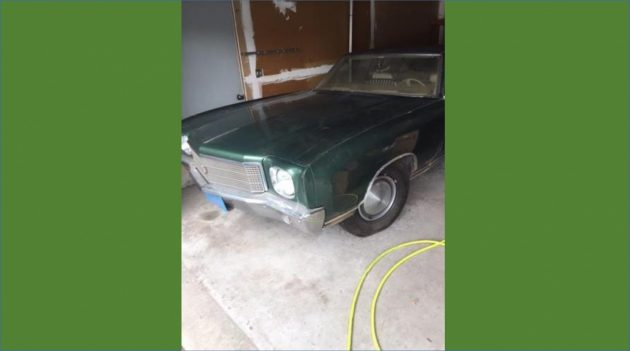 One Driver, Then Stored For 30 Years! 1970 Monte Carlo
