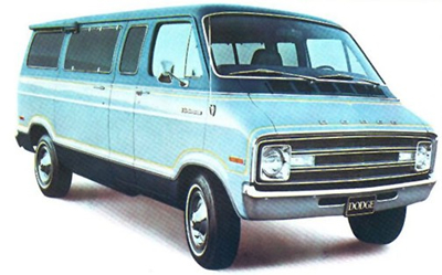 Wild Shag Carpet 1974 Dodge Sportsman Van
